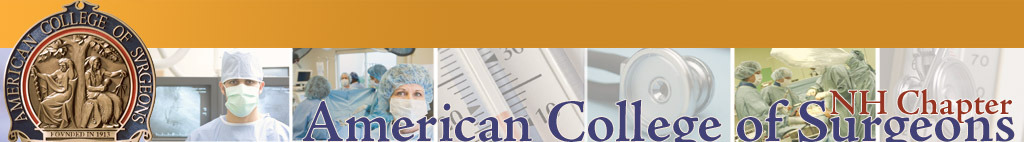 New Hampshire Chapter, American College of Surgeons. Click logo for home page.
