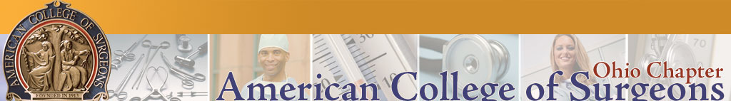 Ohio Chapter, American College of Surgeons. Click logo for home page.