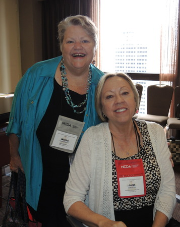Martha Russell and Janet Lenz