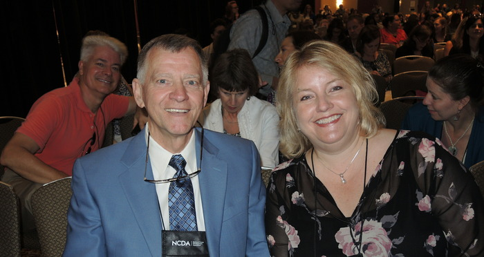 Ron Cathey and Lisa Severy