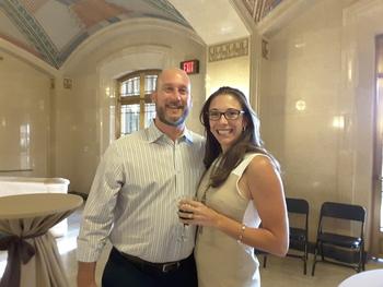 Jessica and Jay D'Varga