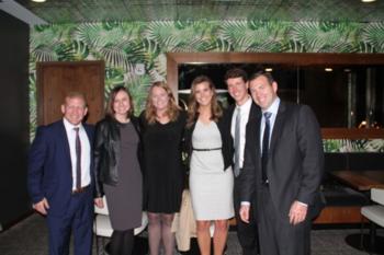 President Mike Streng's Office Family