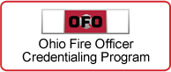 Ohio Fire Officer Credentialing Program