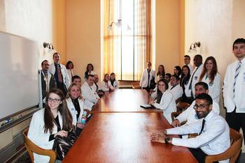 2014 Student Legislative Day - NEOMED group
