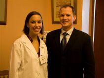 Representative Jimmy Stewart & OSU Student Jessica Zimmerer