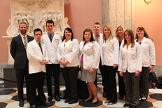 2014 Student Legislative Day - Cedarville Students