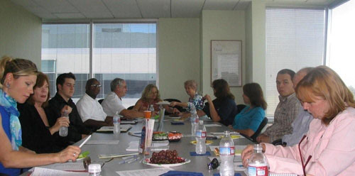SF Bay Area Chapter members at the Monthly Meeting on May 27