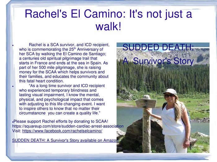 Rachel's walk