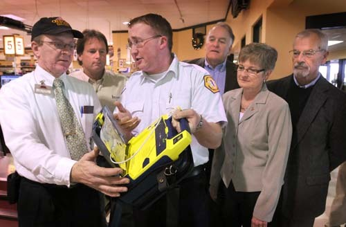 James Weber Presents AED