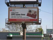 Iowa Billboard Campaign