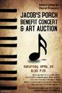 Jacob S Porch Benefit Concert Poster 1